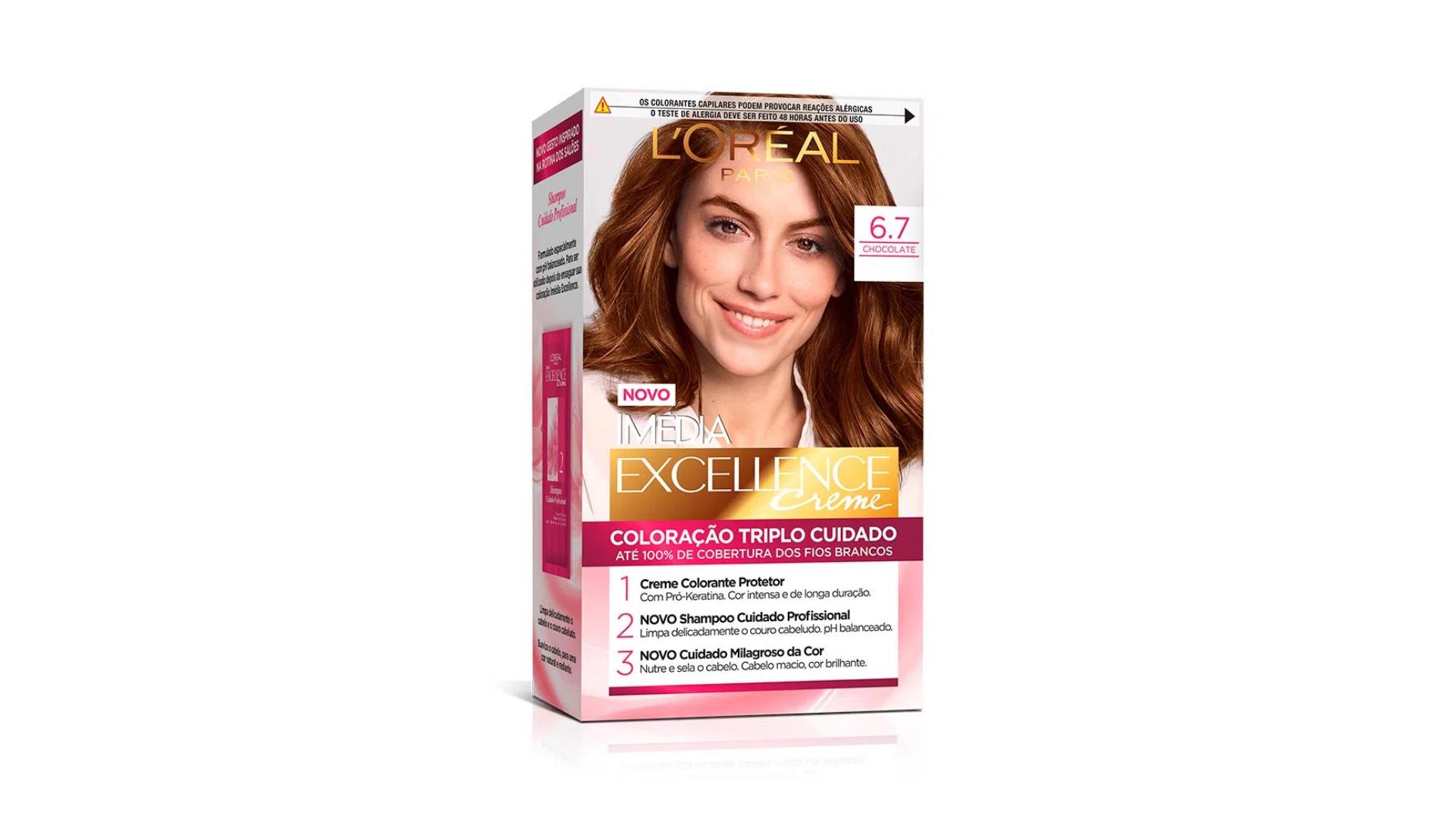L'Oréal Imédia Excellence Creme (Imagem: Divulgação/L'Oréal)