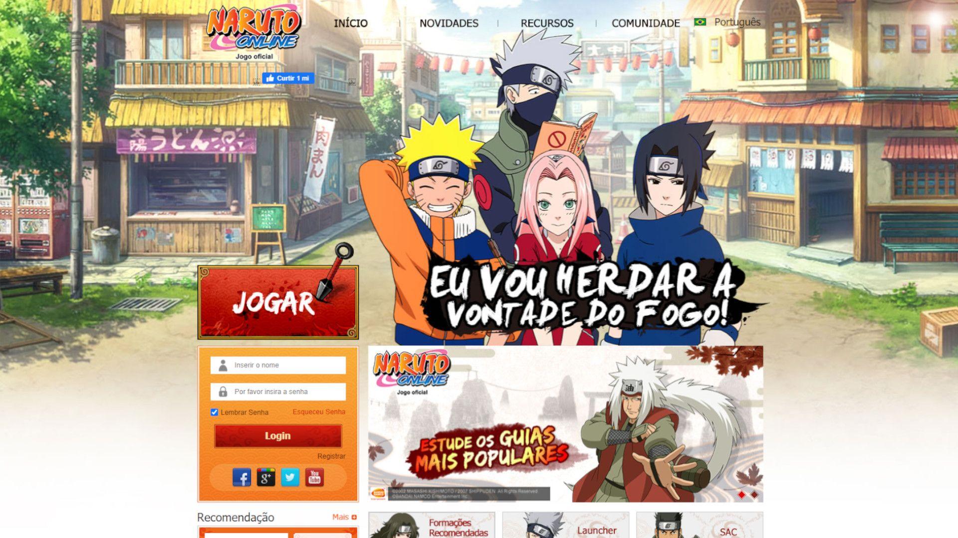 Naruto Online é o jogo gratuito e exclusivo para PC (Foto: Reprodução/Naruto Online)