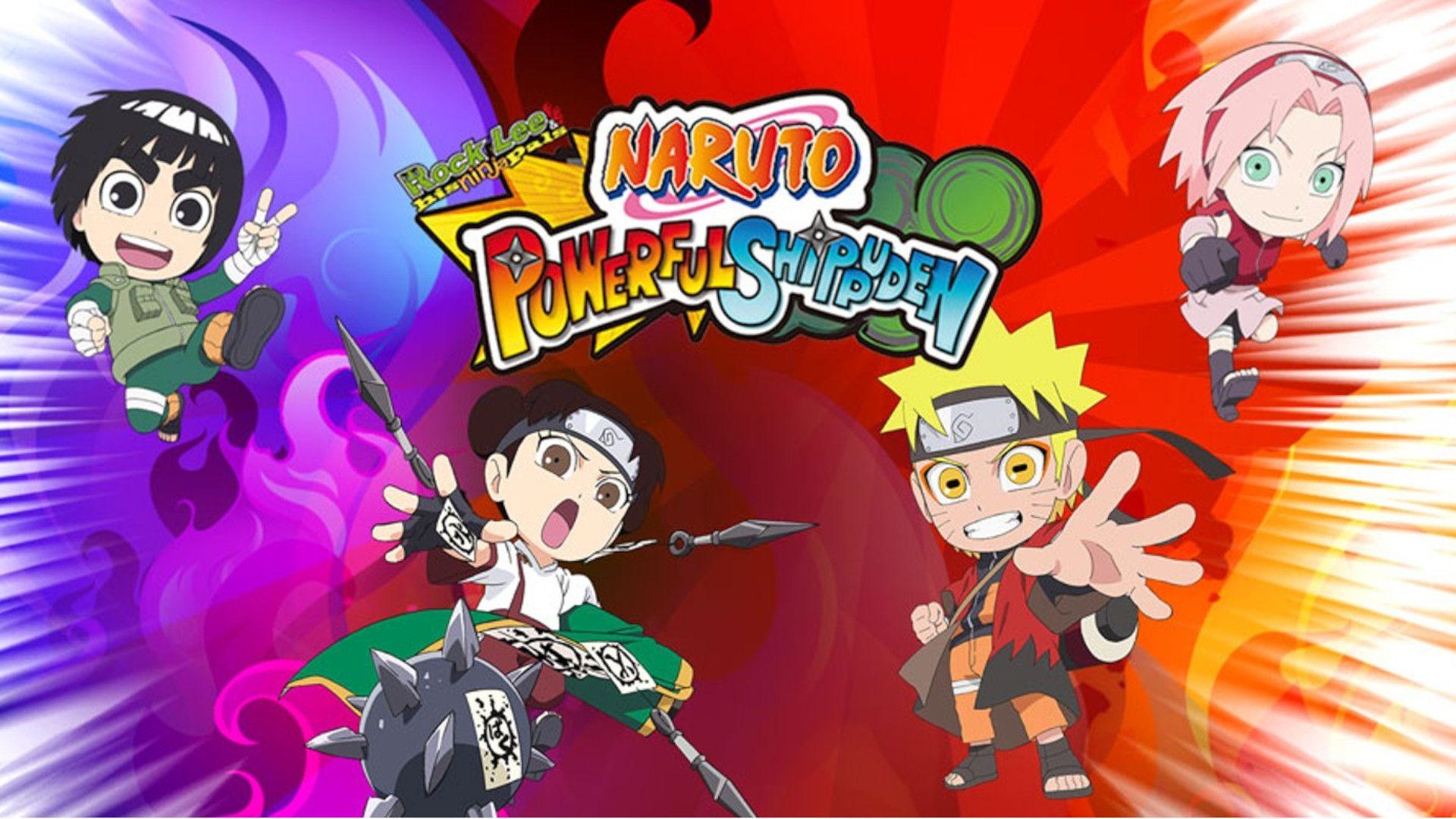 Naruto Powerful Shippuden é uma aventura leve e divertida com o Rock Lee (Foto: Divulgação/Nintendo)