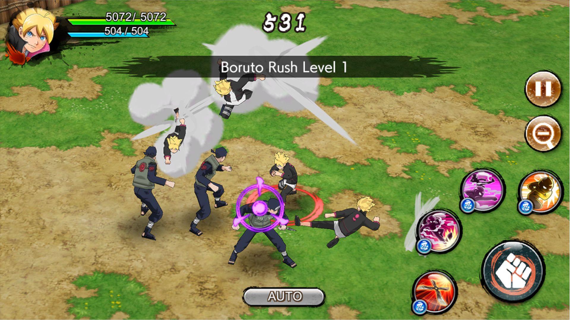 Naruto x Boruto: Ninja Voltage é para quem quer baixar jogo do Naruto direto no celular para se divertir online (Foto: Divulgação/Bandai Namco)