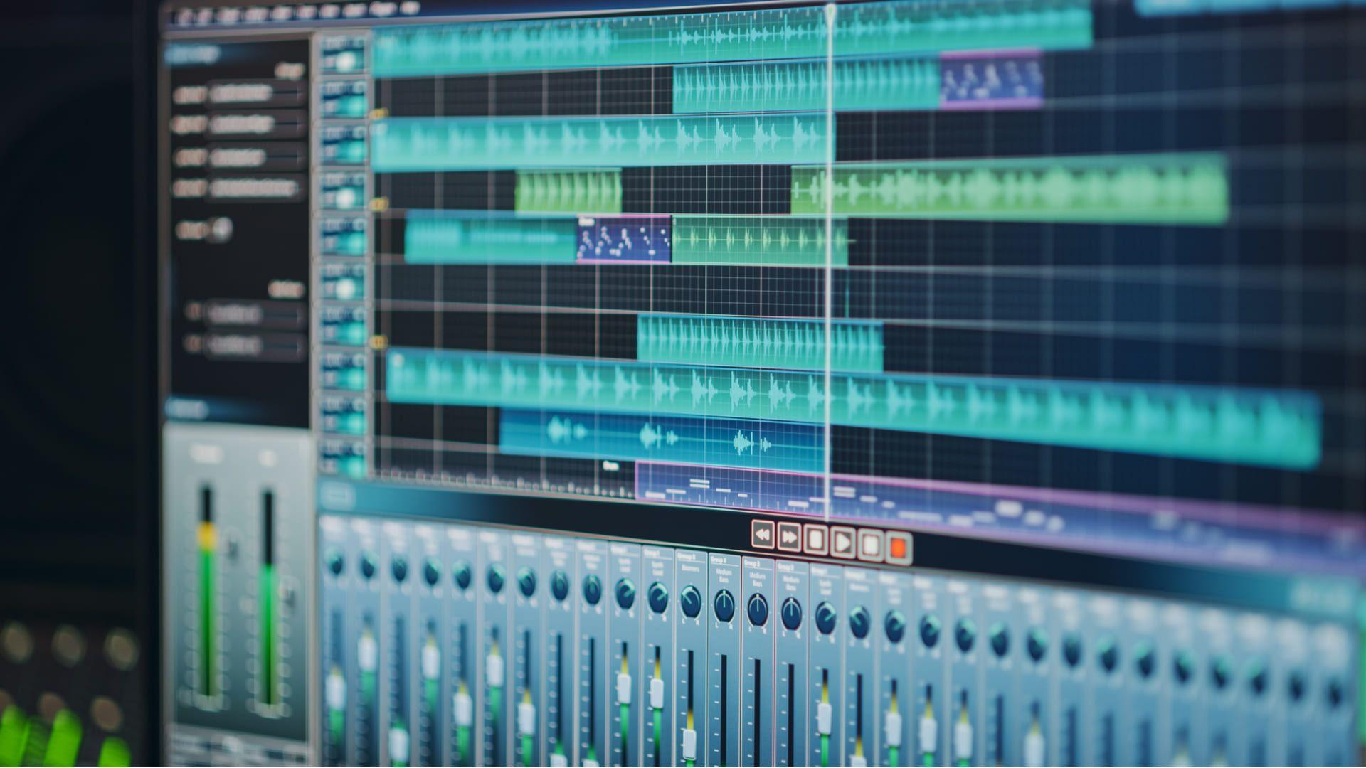 Renderizar áudio é semelhante ao processo usado para projetos de vídeos (Fonte: Shutterstock)