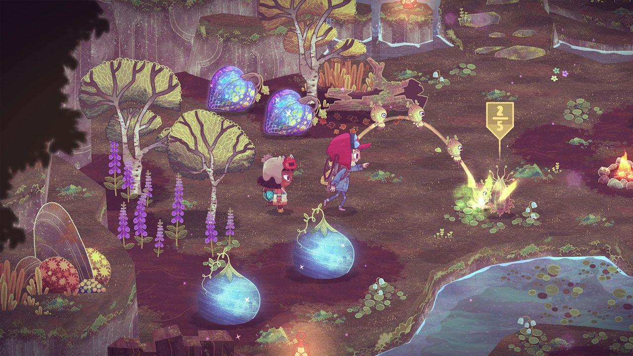 O simpático game de aventura e quebra-cabeça The Wild at Heart chega ao Xbox Series X/S e Xbox One em 20 de maio (Reprodução: Steam)