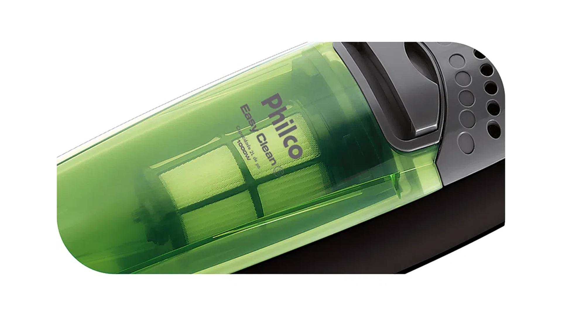 Philco Easy Clean tem filtro HEPA e reservatório de 2 litros de capacidade (Imagem: Divulgação/Philco)
