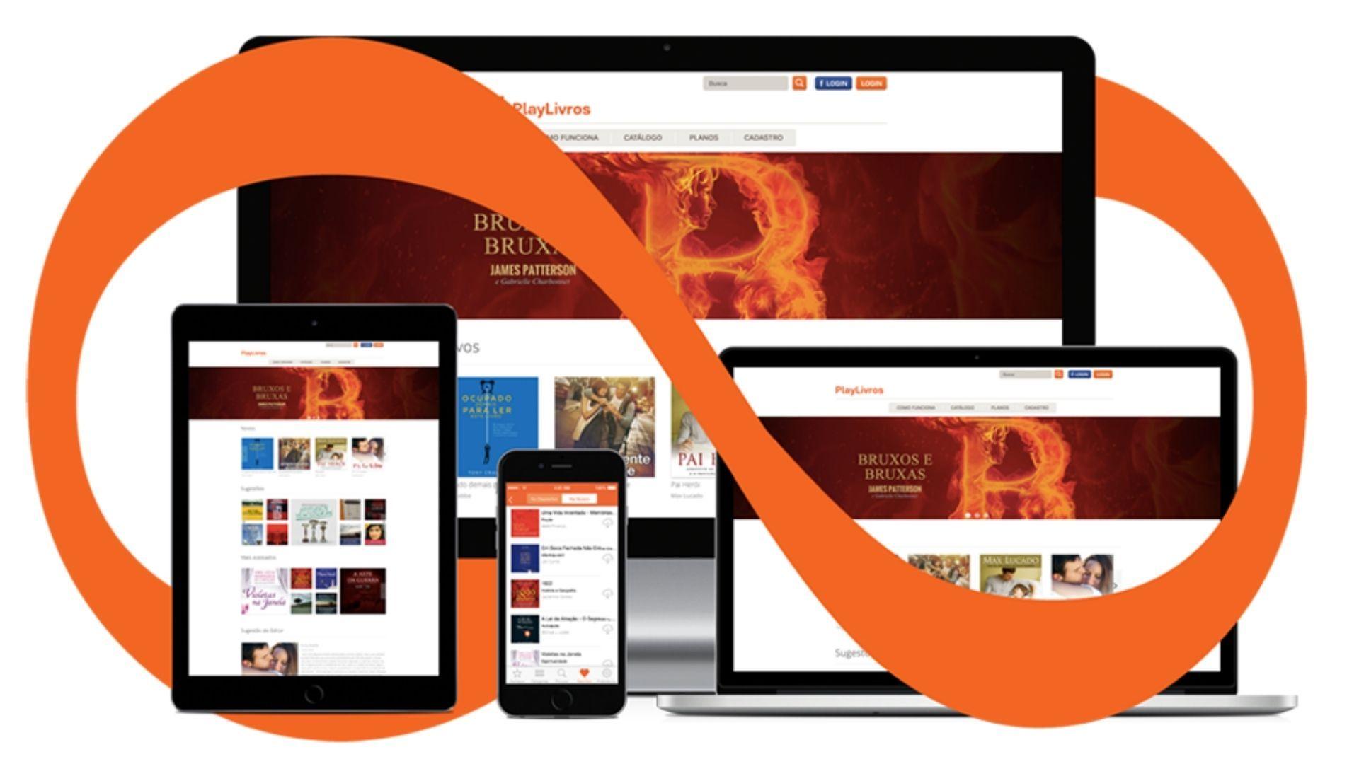 PlayLivros é um aplicativo para ouvir Audio Books da Ubook.