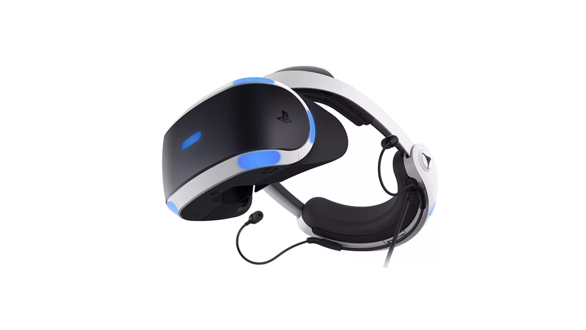Óculos realidade virtual da Sony. (Foto: Divulgação/Sony)