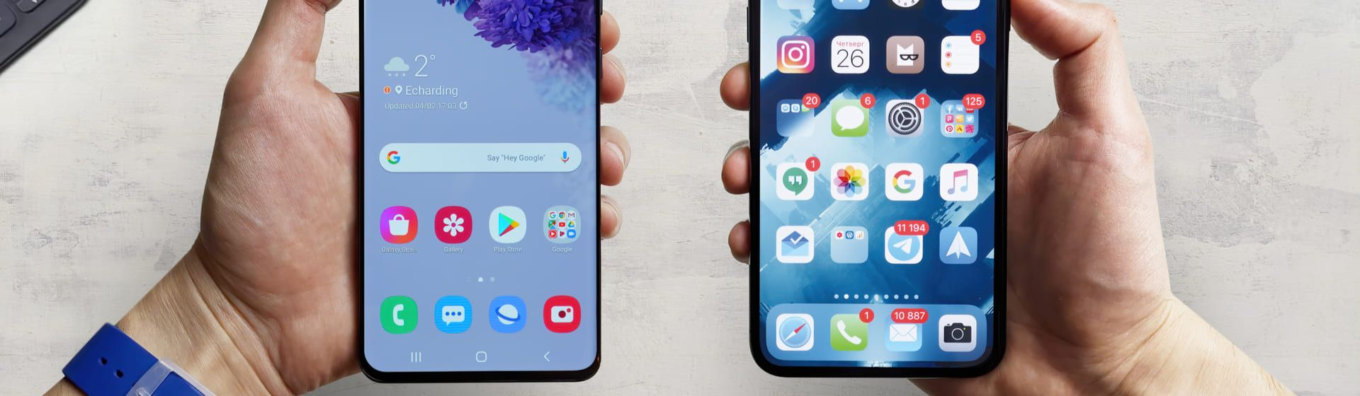 O que é melhor: iPhone ou Android?