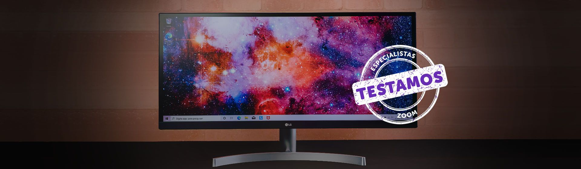 Monitor LG ultrawide 29'': bom custo-benefício e tela grande