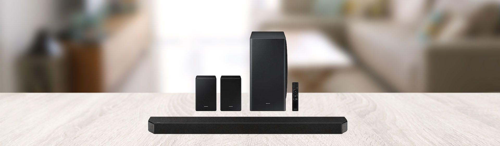 Soundbar Samsung Q950A é boa? Confira a análise desse sistema de som