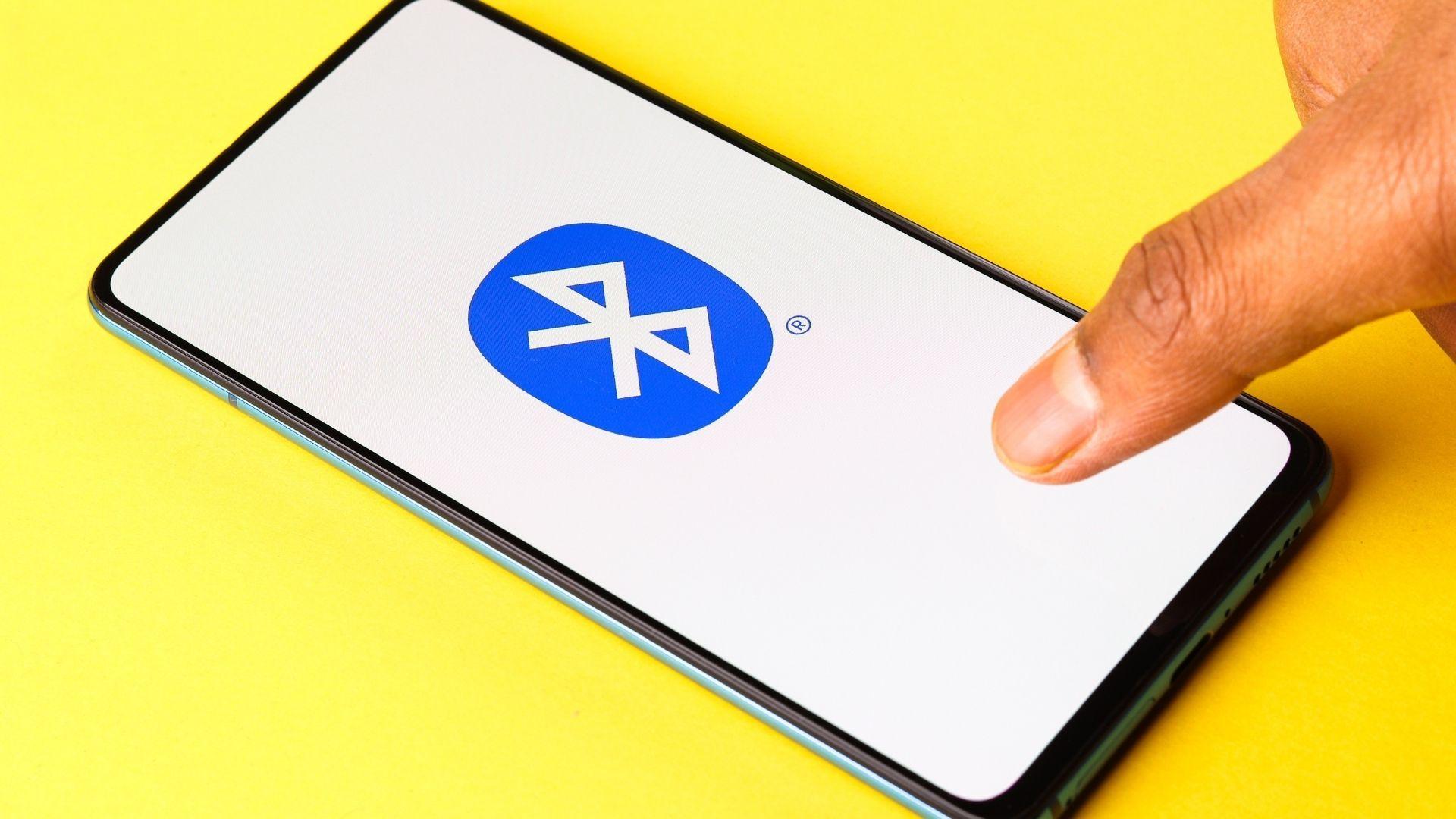 Símbolo do Bluetooth (Foto: sdx15 / Shutterstock.com)
