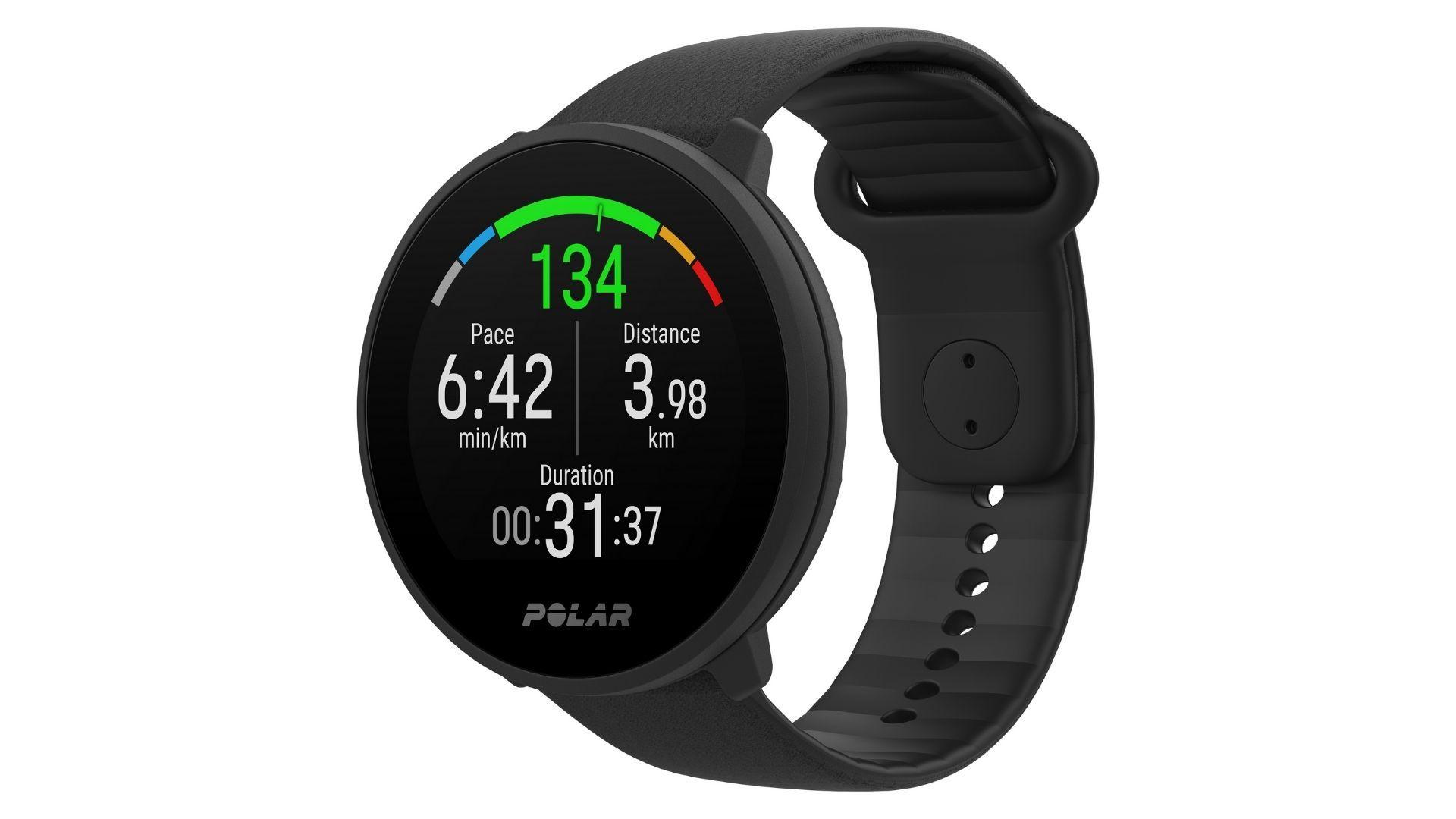 Smartwatch fitness: Polar Unite suporta diferentes atividades físicas (Foto: Divulgação/Polar)