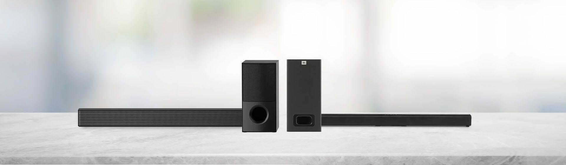 Soundbar LG SNH5 vs Soundbar JBL SB130: qual é melhor?