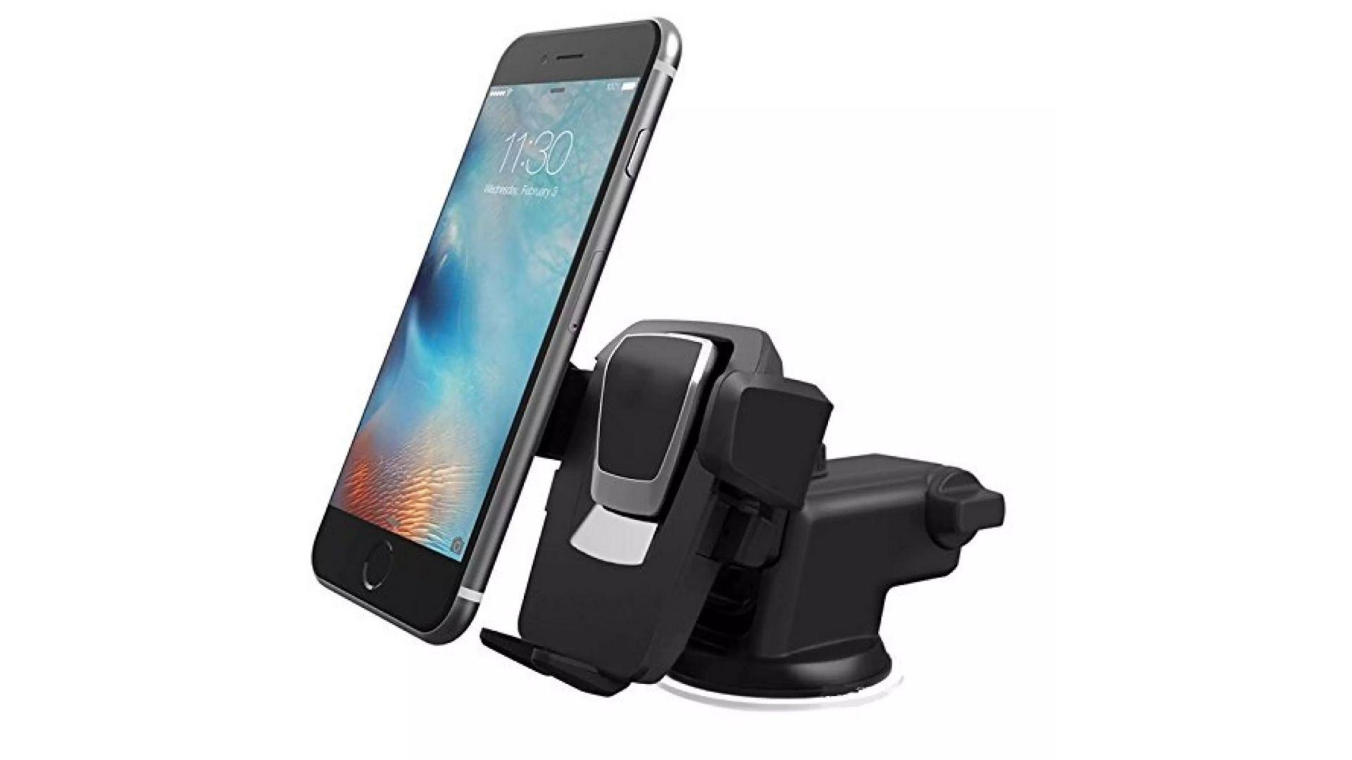 Suporte de celular para carro é ideal para acompanhar o caminho no GPS (Foto: Divulgação)