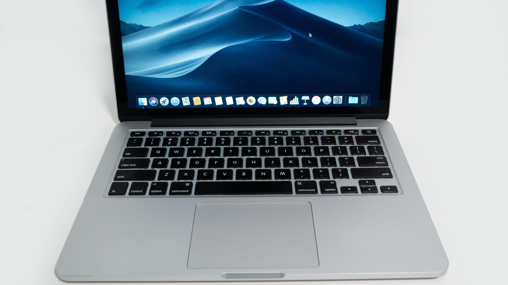 Teclado e touchpad do MacBook Pro 2019 (Foto: Shutterstock)