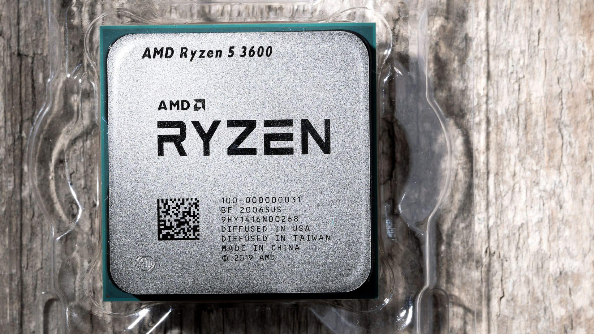 O Ryzen 5 3600 tende a esquentar menos que modelos concorrentes.
