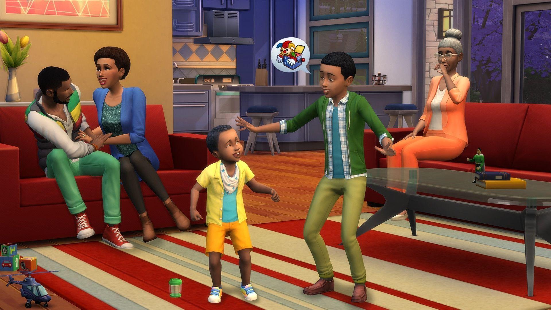 Em The Sims 4 você cria a história do jogo (Foto: Divulgação/EA)