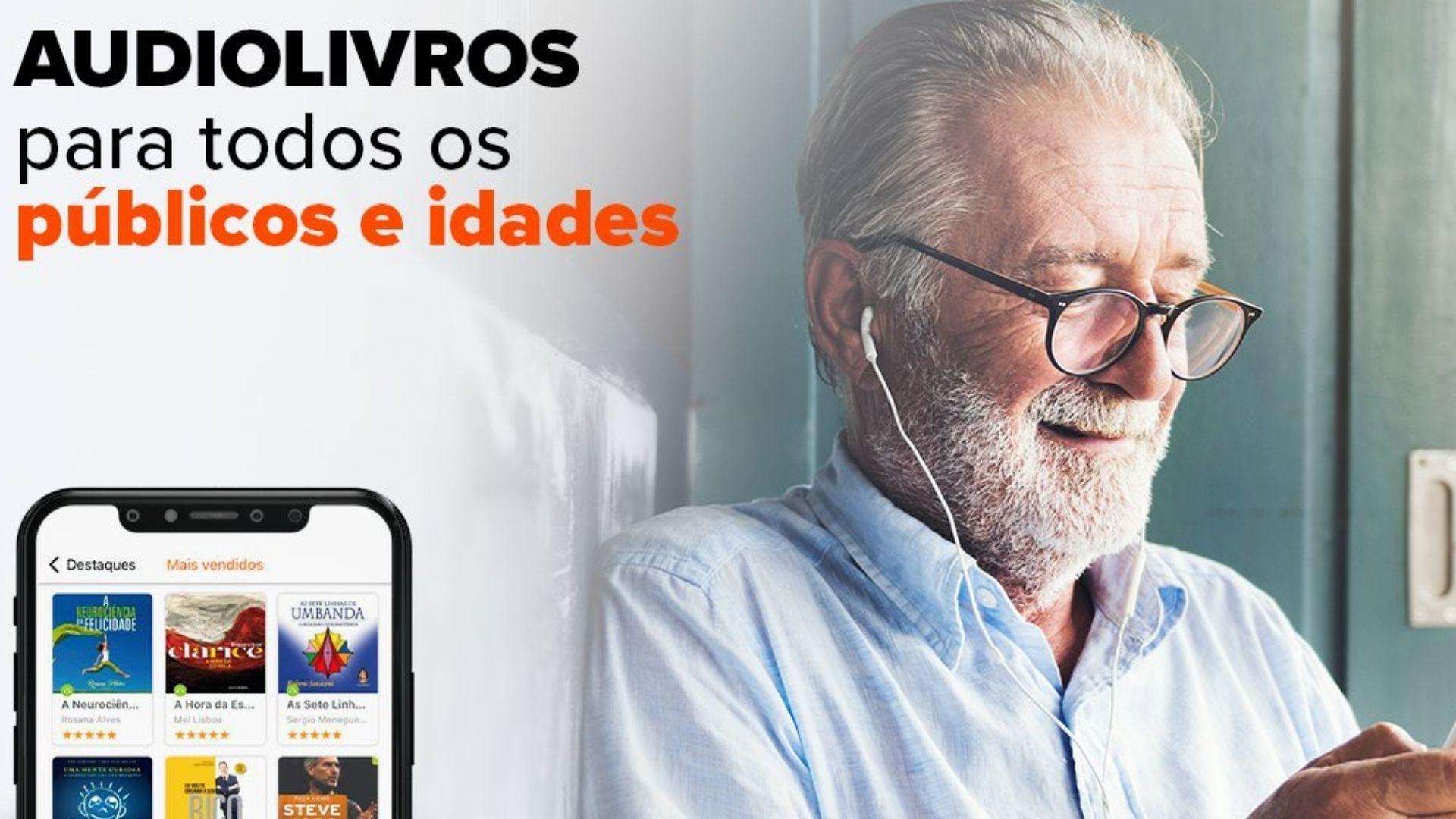 TocaLivros Audio Books promete opções para todas as idades (Foto: Reprodução)