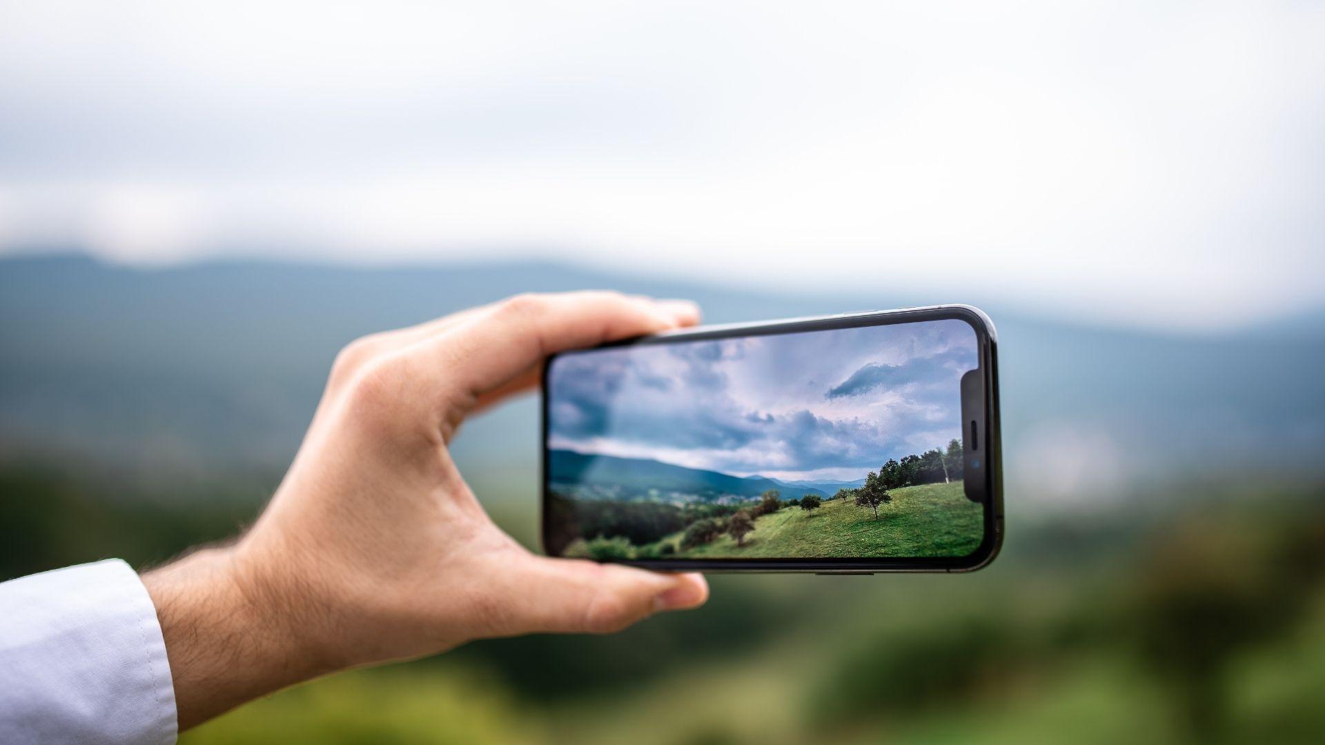 A câmera ultra-wide é excelente para tirar fotos de paisagens (Halfpoint / Shutterstock.com)