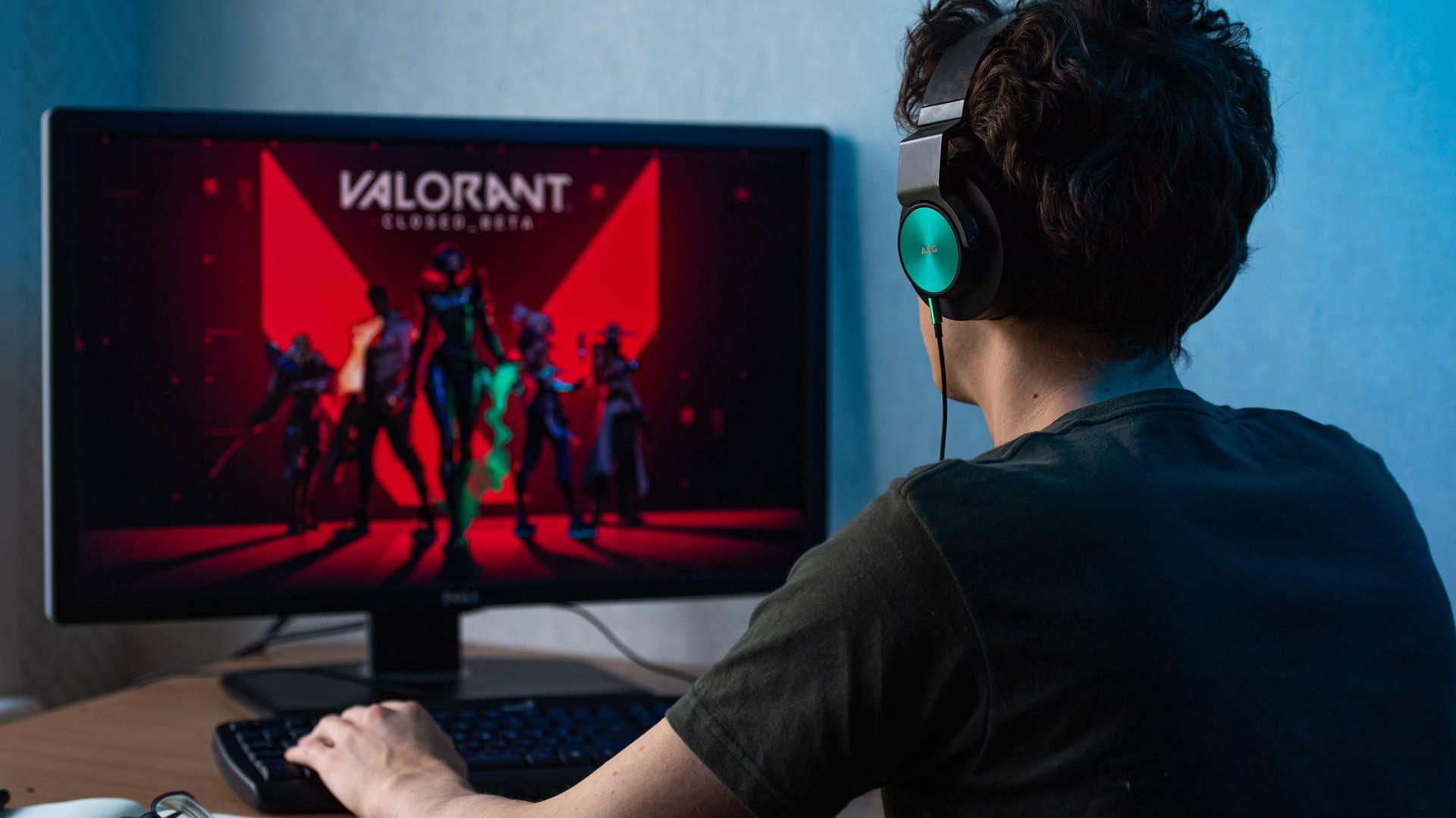 Valorant é uma boa opção entre os jogos de pc fraco. (Foto: Shutterstock)