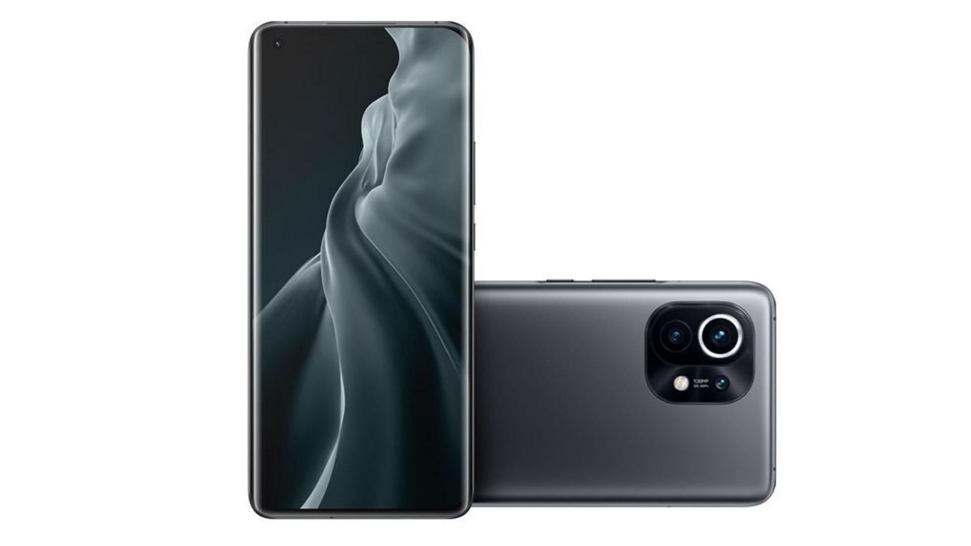 Xiaomi Mi 11 pesa apenas 12 gramas. (Foto: Divulgação/Xiaomi)