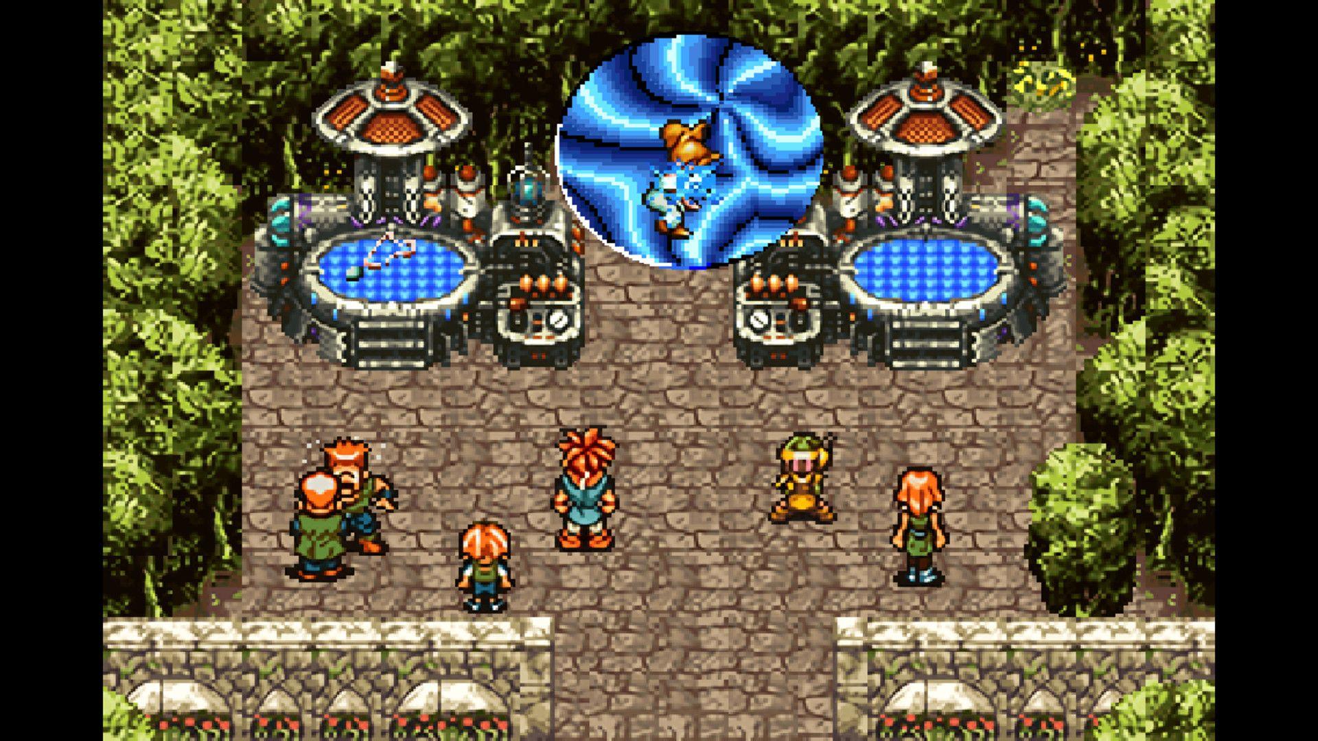 Viagem no tempo é tema principal de Chrono Trigger (Foto: Divulgação/Square Enix)