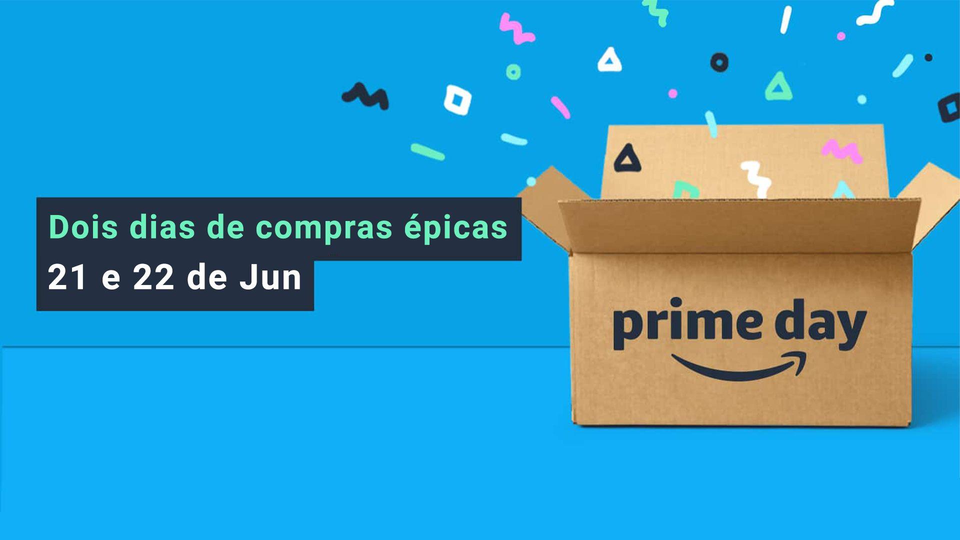 """O Prime Day da Amazon promete """"dois dias de compras épicas"""" (Imagem: Divulgação/Amazon)"""