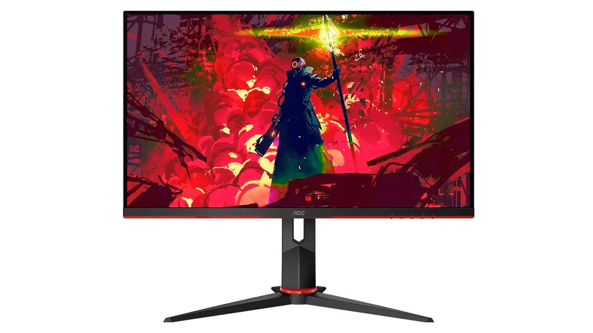 Veja detalhes do monitor gamer IPS 24 AOC Full HD Hero 24G2 (Foto: Divulgação/AOC)