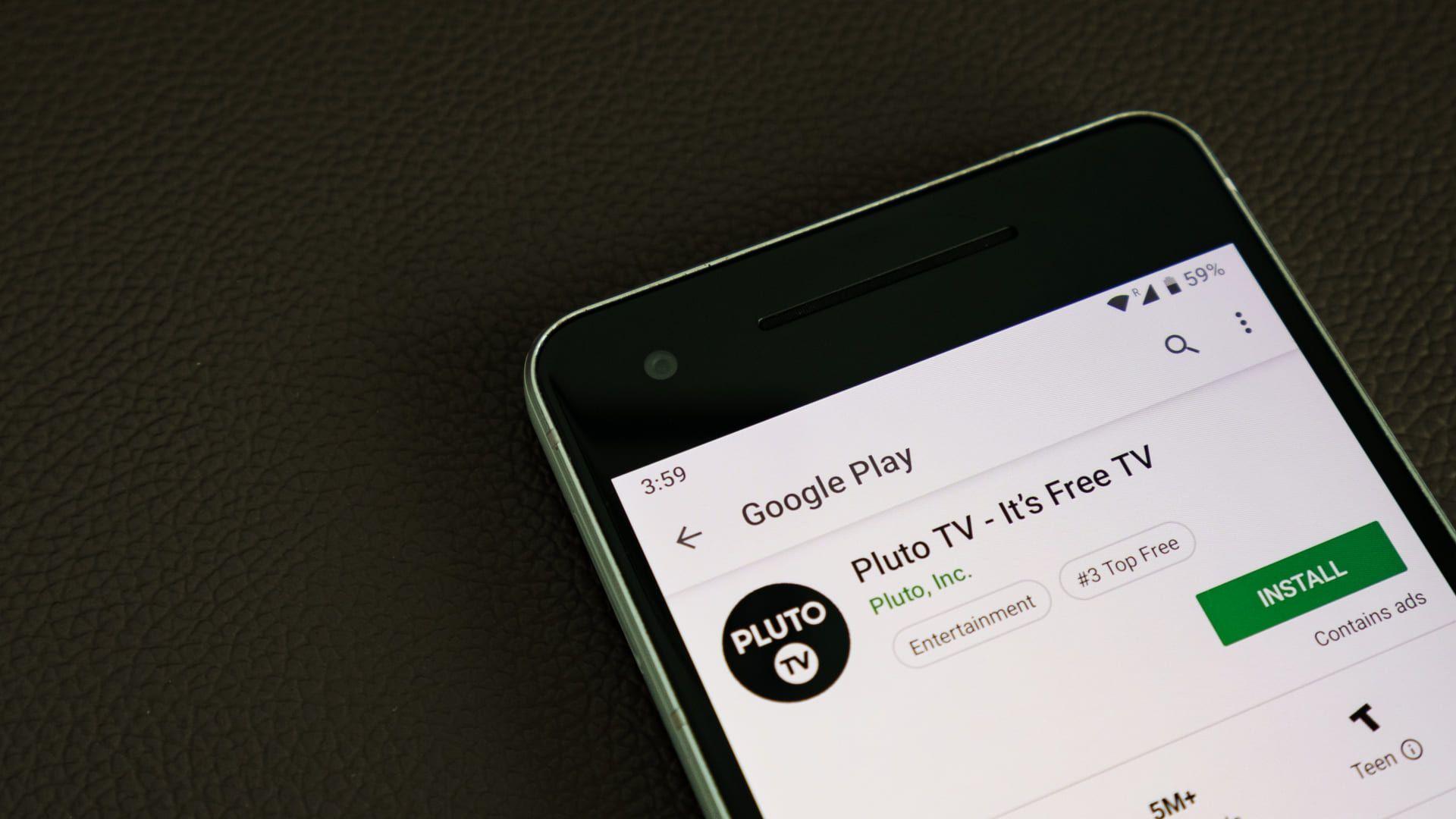 O Pluto TV é outro serviço de IPTV, só que gratuito. (Imagem: Reprodução/Shutterstock)
