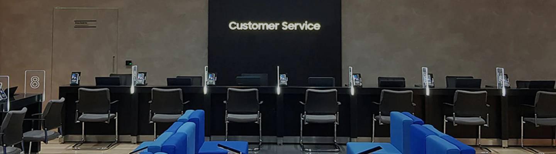 Os centros de assistência técnica Samsung são uma das formas de conseguir resolver seus problemas com aparelhos da marca (Fonte: Divulgação/Samsung)