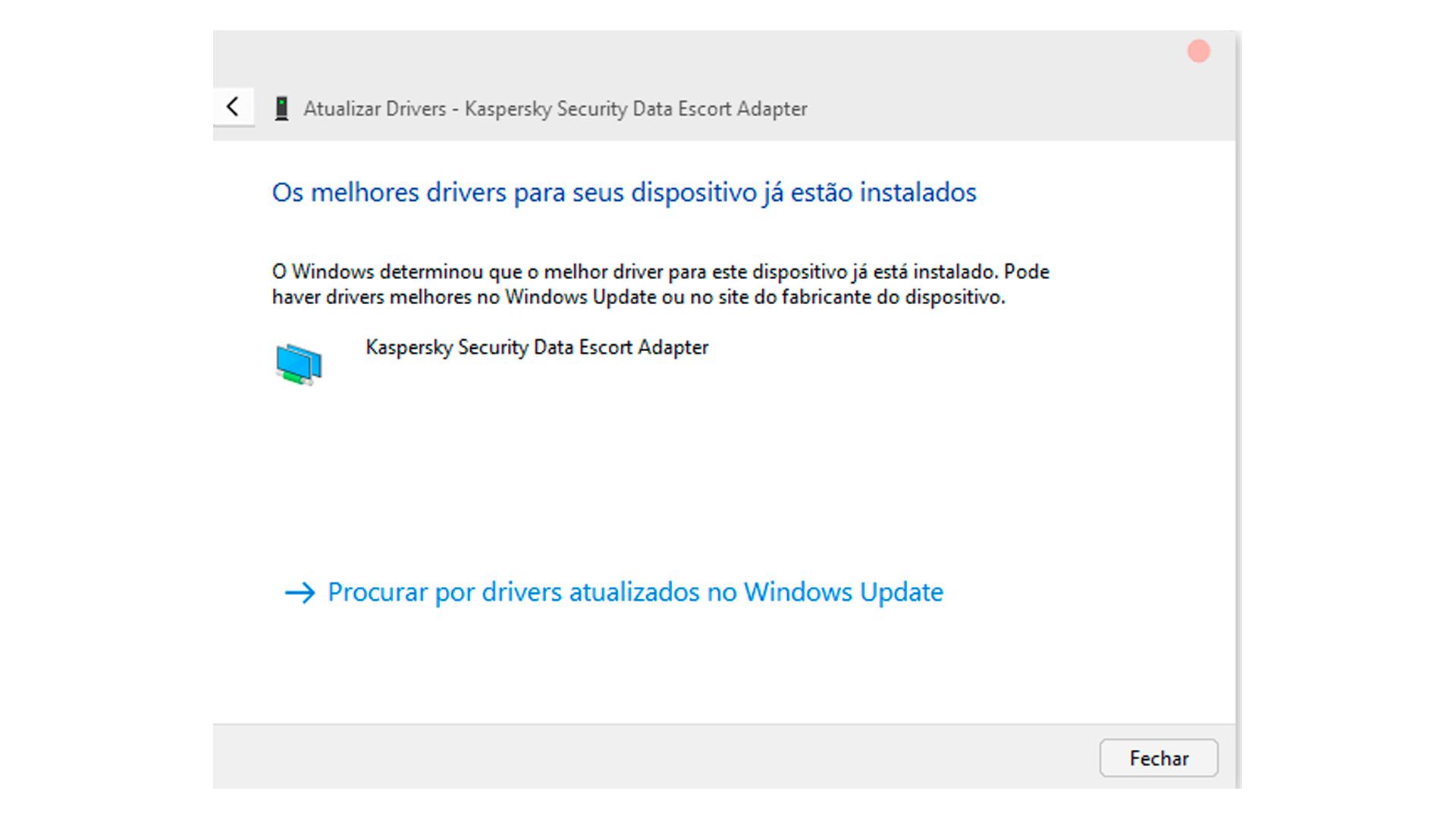O Windows pode reconhecer novamente os drivers e solucionar o erro 43 (Foto/Hugo Iwaasa)