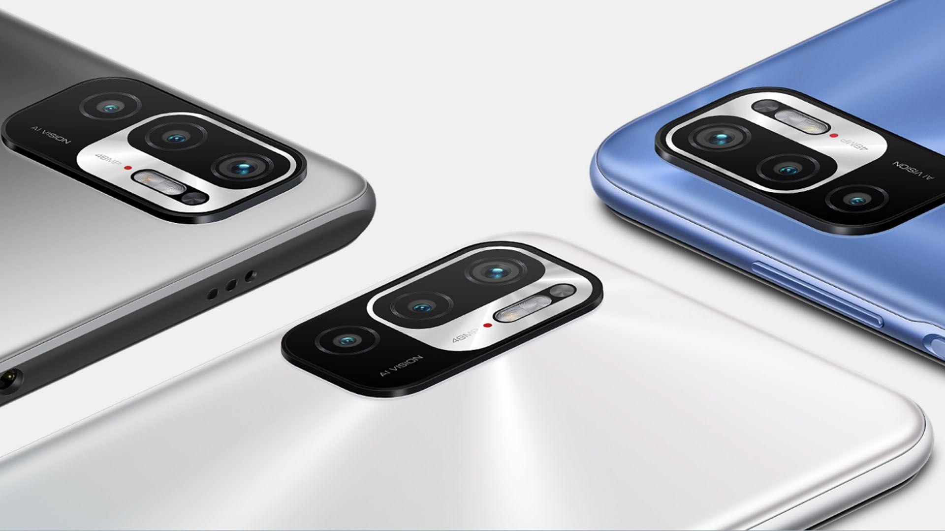 Conjunto de câmeras do Redmi Note 10 5G. (Foto: Divulgação/Xiaomi)