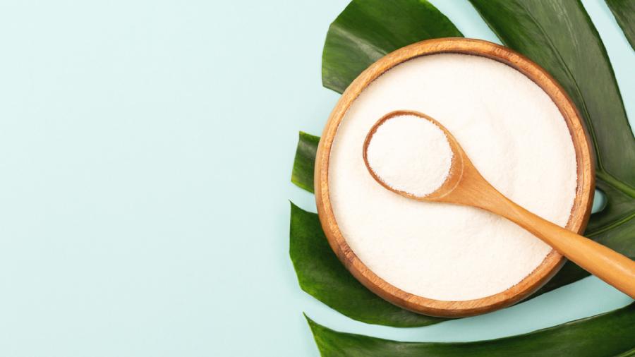 O colágeno hidrolisado é um suplemento que ativa a elasticidade da pele (Imagem: Reprodução/Shutterstock)
