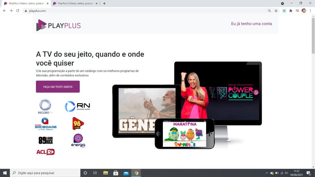 Record online PlayPlus