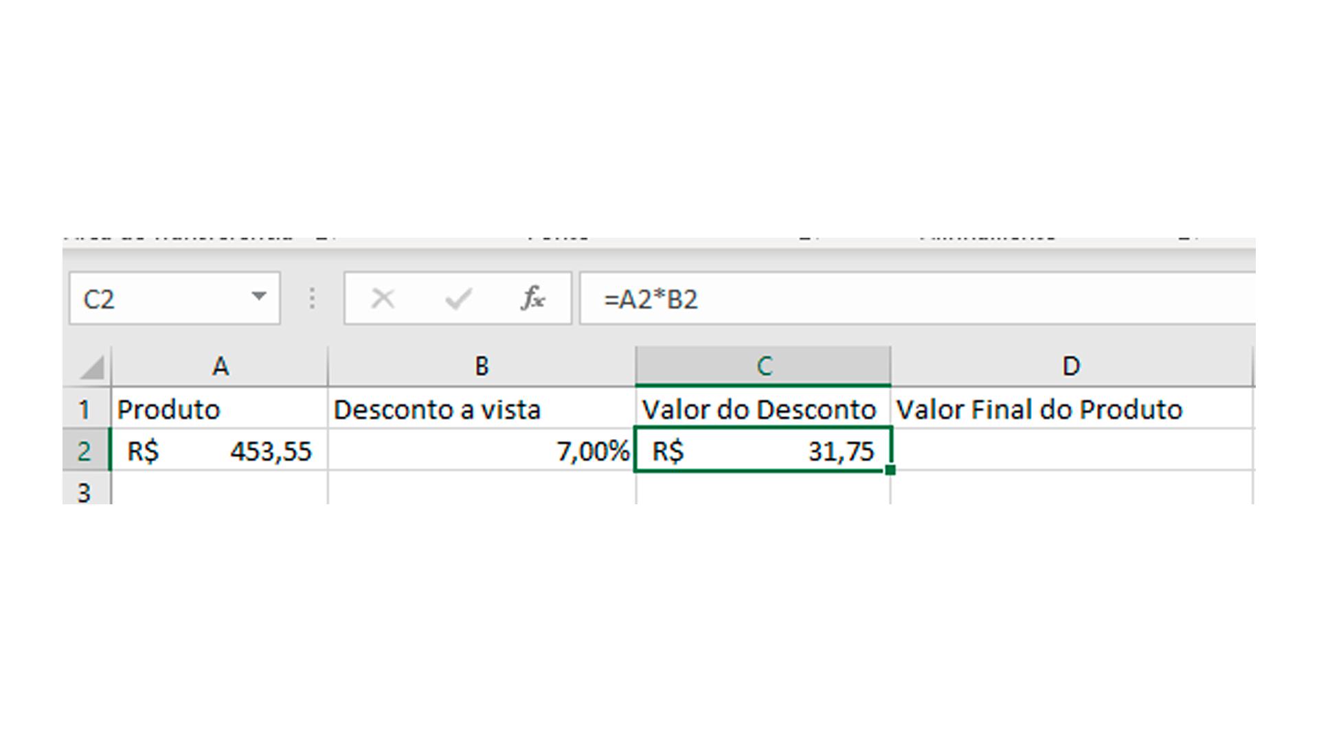 Para encontrar o valor do desconto, multiplique o valor do produto pela porcentagem (Foto/Hugo Iwaasa)