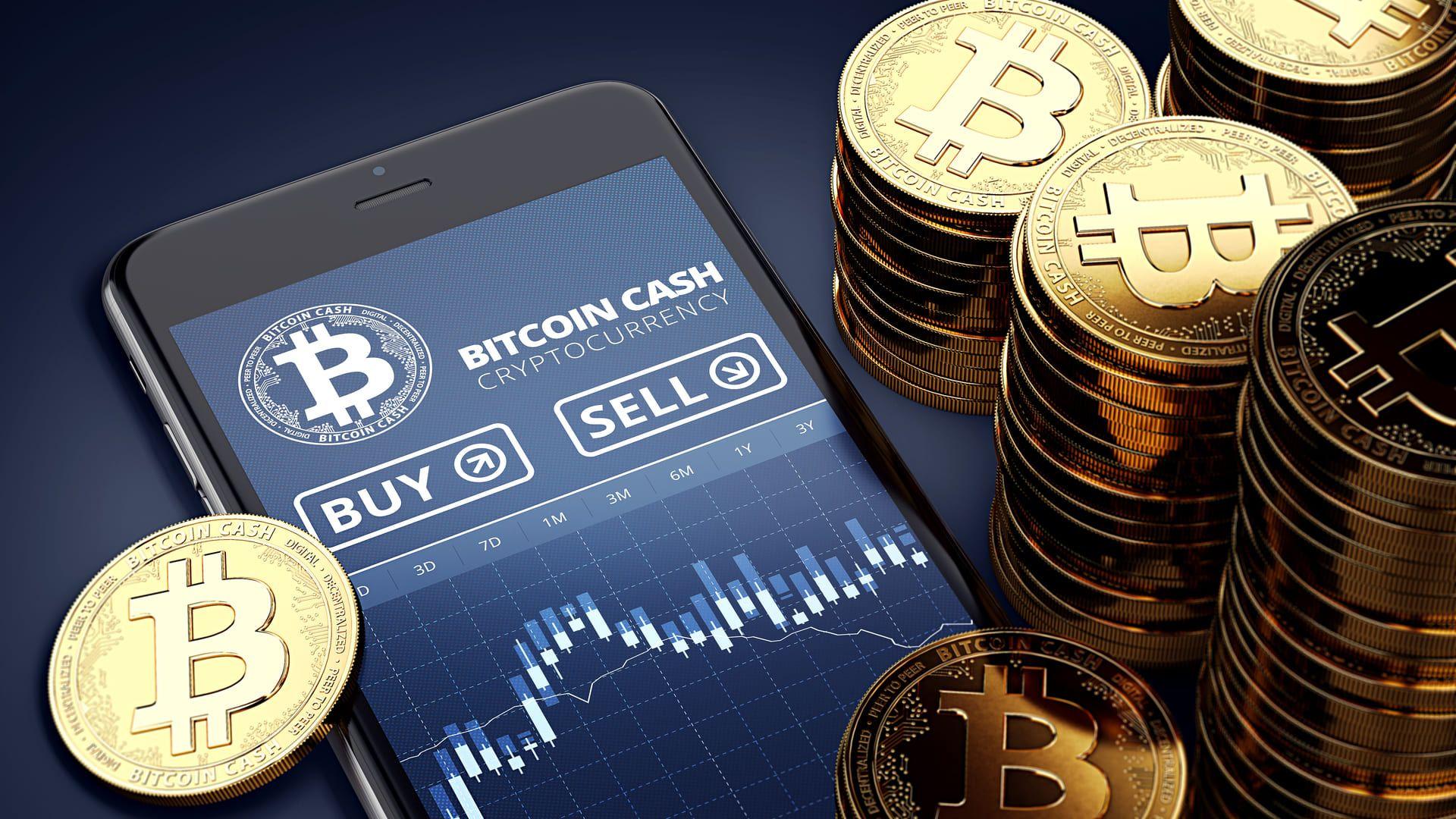 Corretoras de investimentos são formas acessíveis de investir em criptomoedas (Foto: Shutterstock)