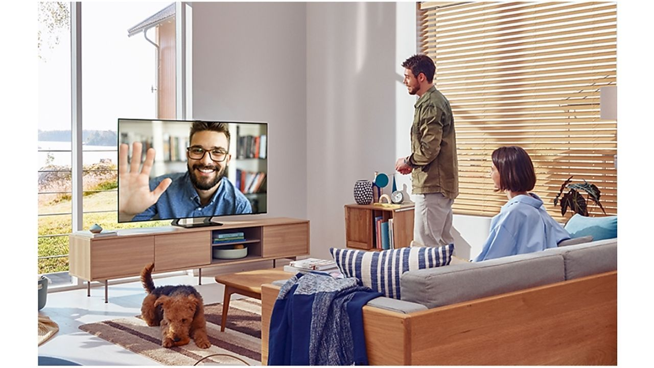 As TVs Crystal UHD têm design slim e moderno (Foto: Reprodução/Samsung)