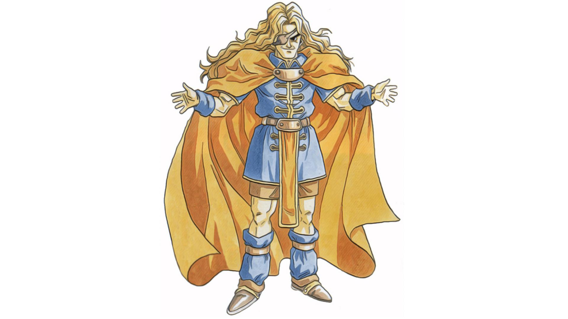 Dalton é o não tão leal conselheiro da Rainha Zeal (Foto: Divulgação/Square Enix)