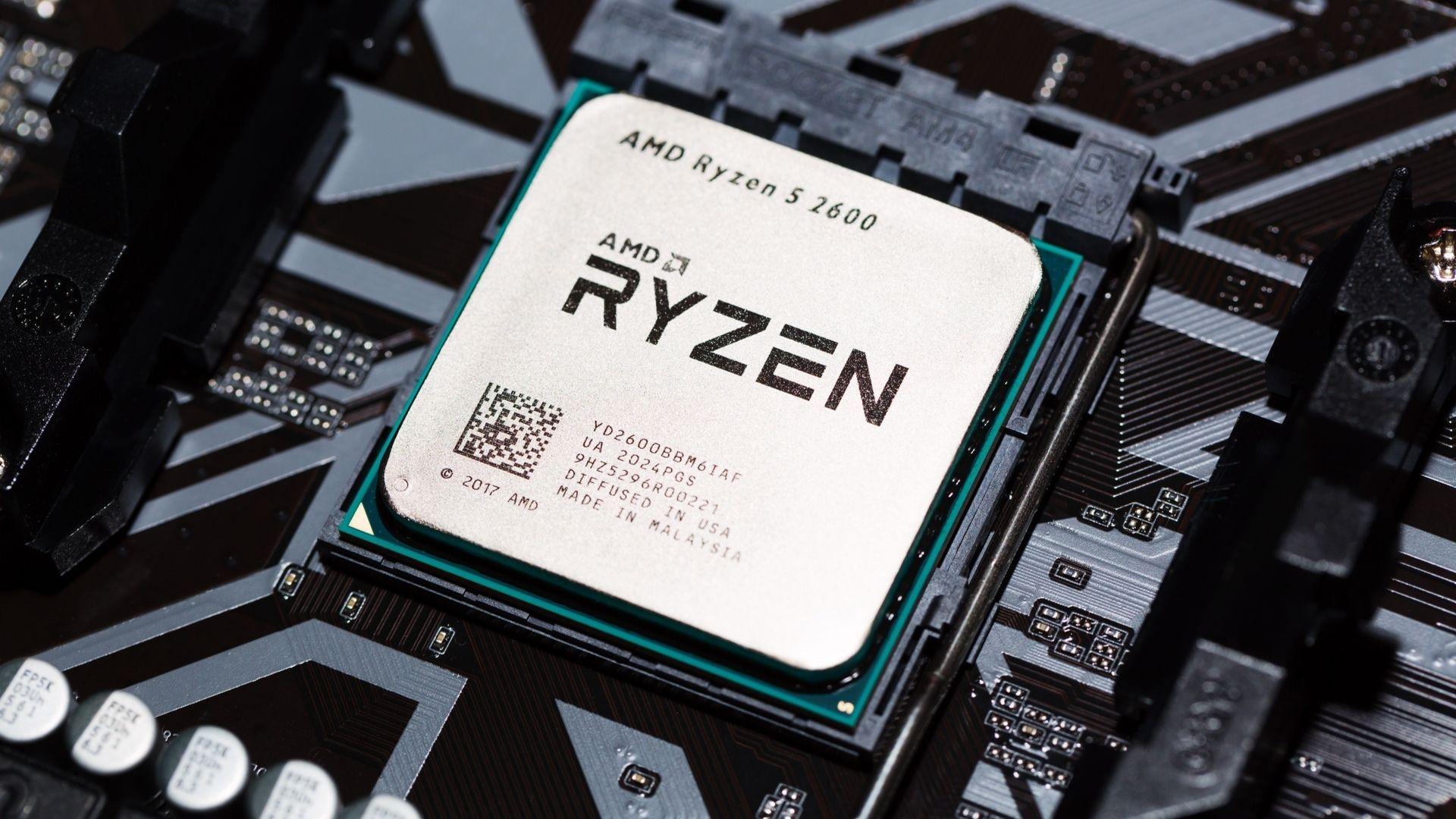 O AMD Ryzen 5 2600 possui 3,4GHz de clock e chega a 3,9GHz com o boost (Foto: Divulgação/Shutterstock)