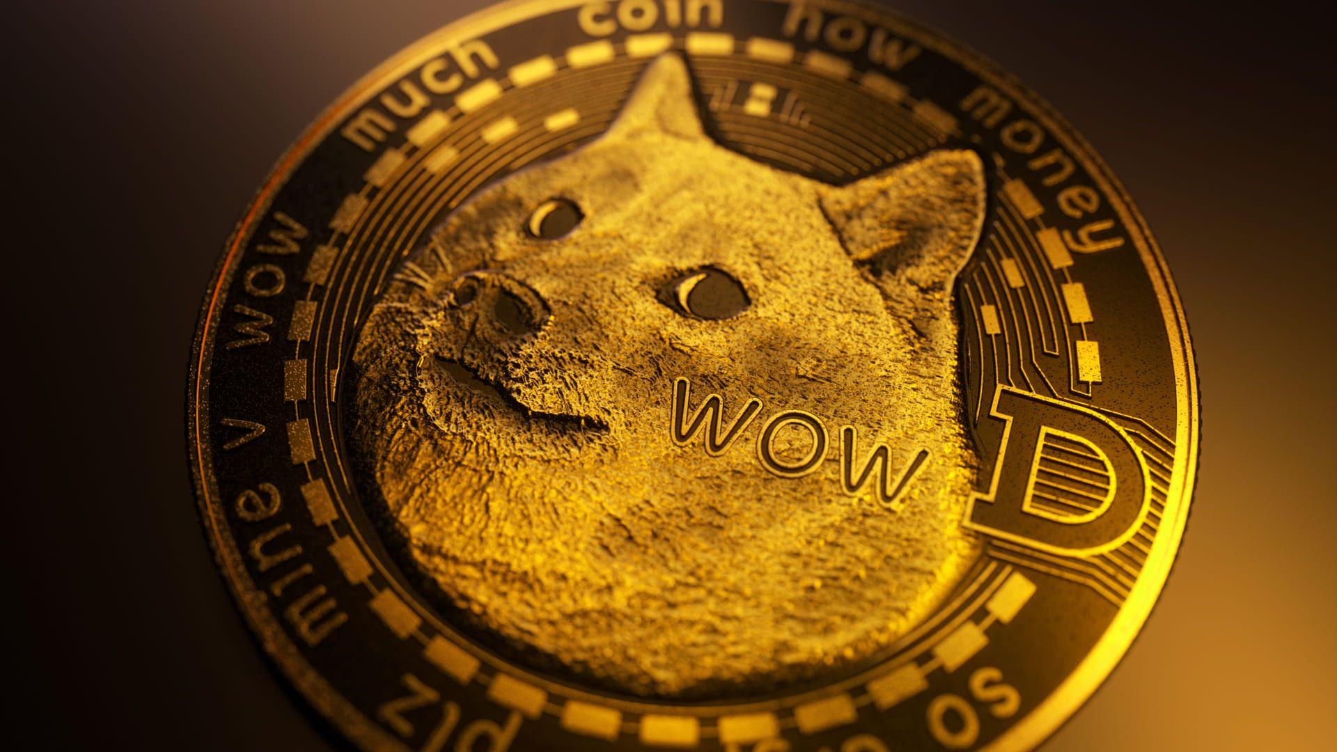 O dogecoin é uma das criptomoedas criadas como meme que virou uma opção nas carteiras virtuais (Foto: Shutterstock)
