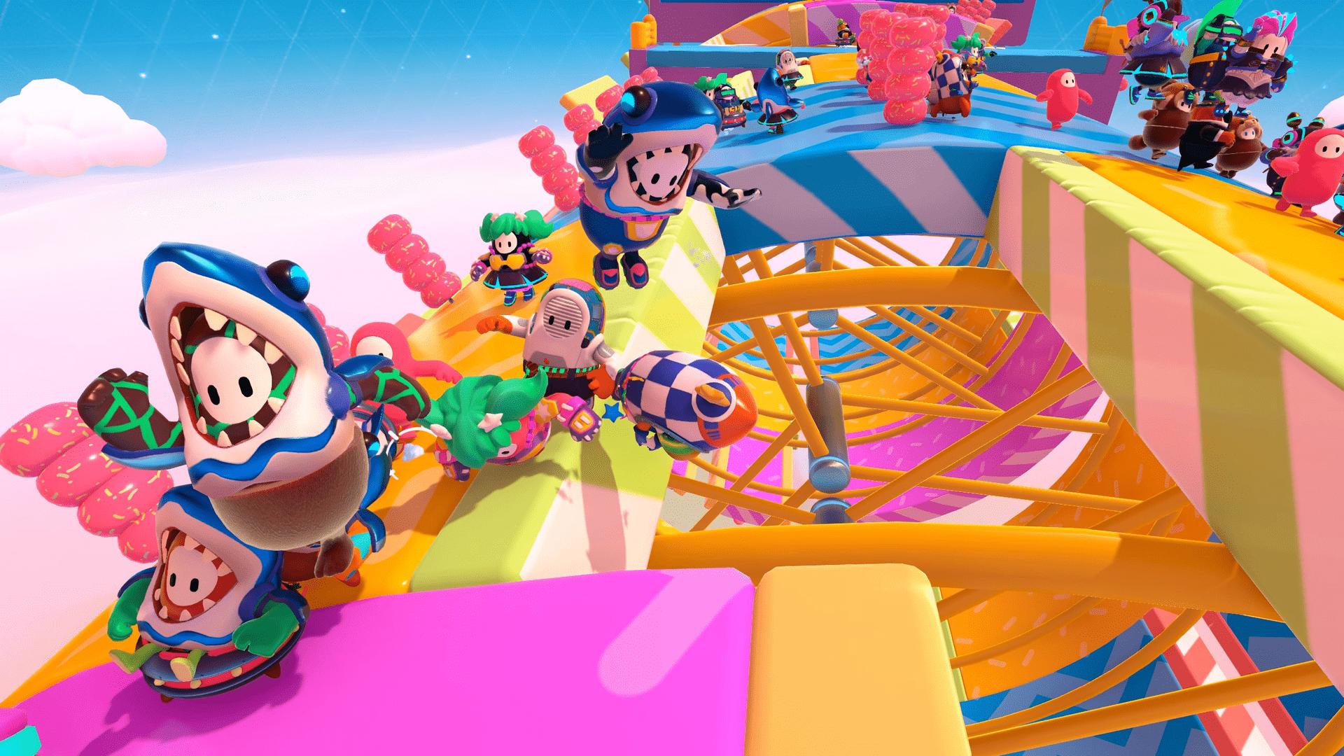 Fall Guys é o Battle Royale ideal para passar o tempo e se divertir com amigos (Foto: Divulgação/Mediatonic)