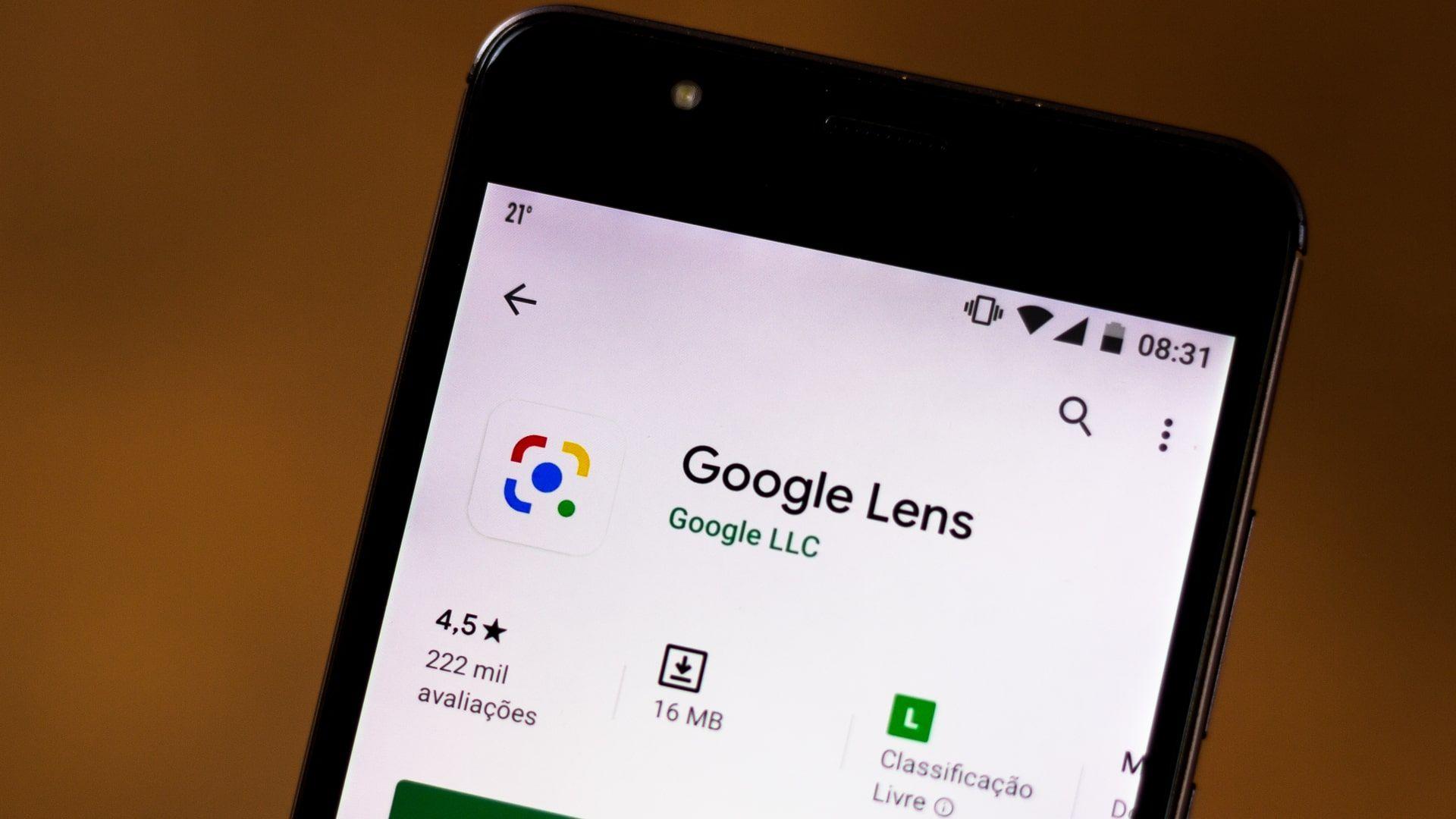 App do Google Lens pode ser baixado na maioria dos celulares Android atuais (Foto: Shutterstock)