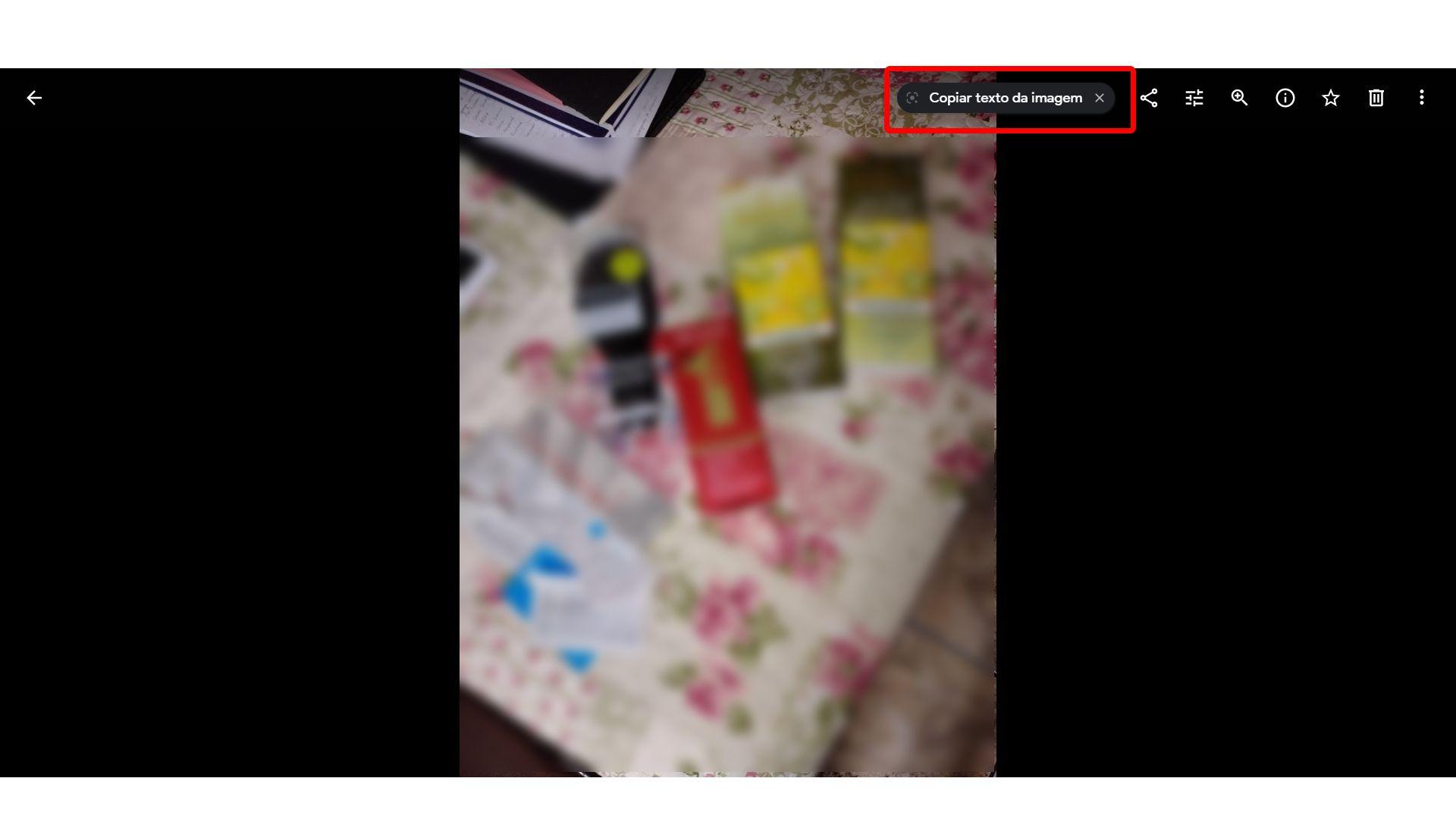 Google Lens pode reconhecer texto em imagens do Google Fotos no PC (Foto: Arte/Zoom)
