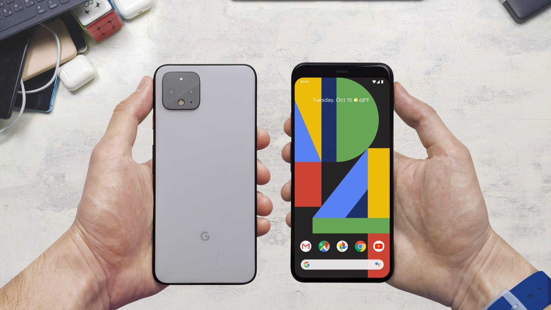 O Google Pixel 4 é um aparelho com processador potente. (Foto: Shutterstock)