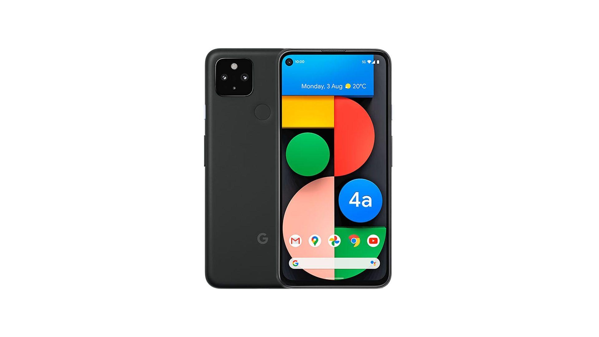 O Google Pixel 4a é o primeiro celular com 5G do Google. (Foto: Divulgação/Google)