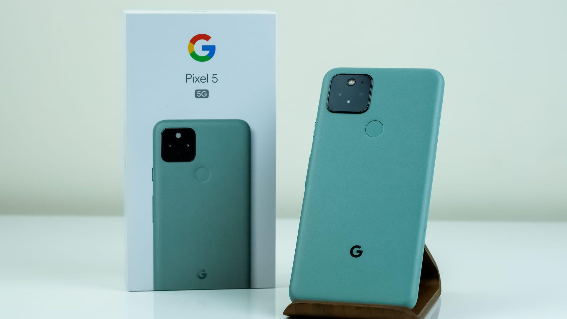 O Google Pixel 5G é um último lançamento do Google. (Foto: Shutterstock)
