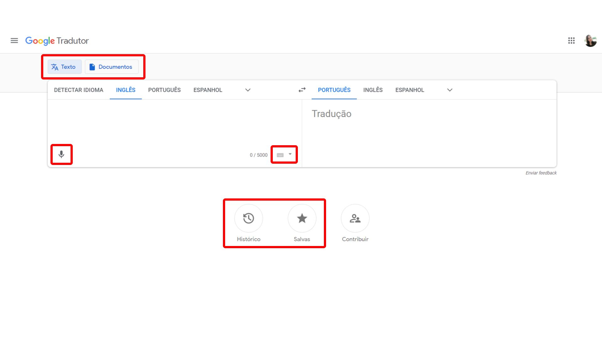 Google Tradutor oferece recursos para tradução de documentos e tradução por voz (Foto: Arte/Zoom)