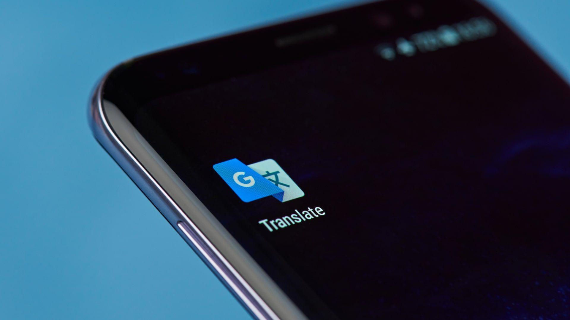Google Tradutor oferece diversas formas de tradução, incluindo texto, foto e voz (Foto: Shutterstock)
