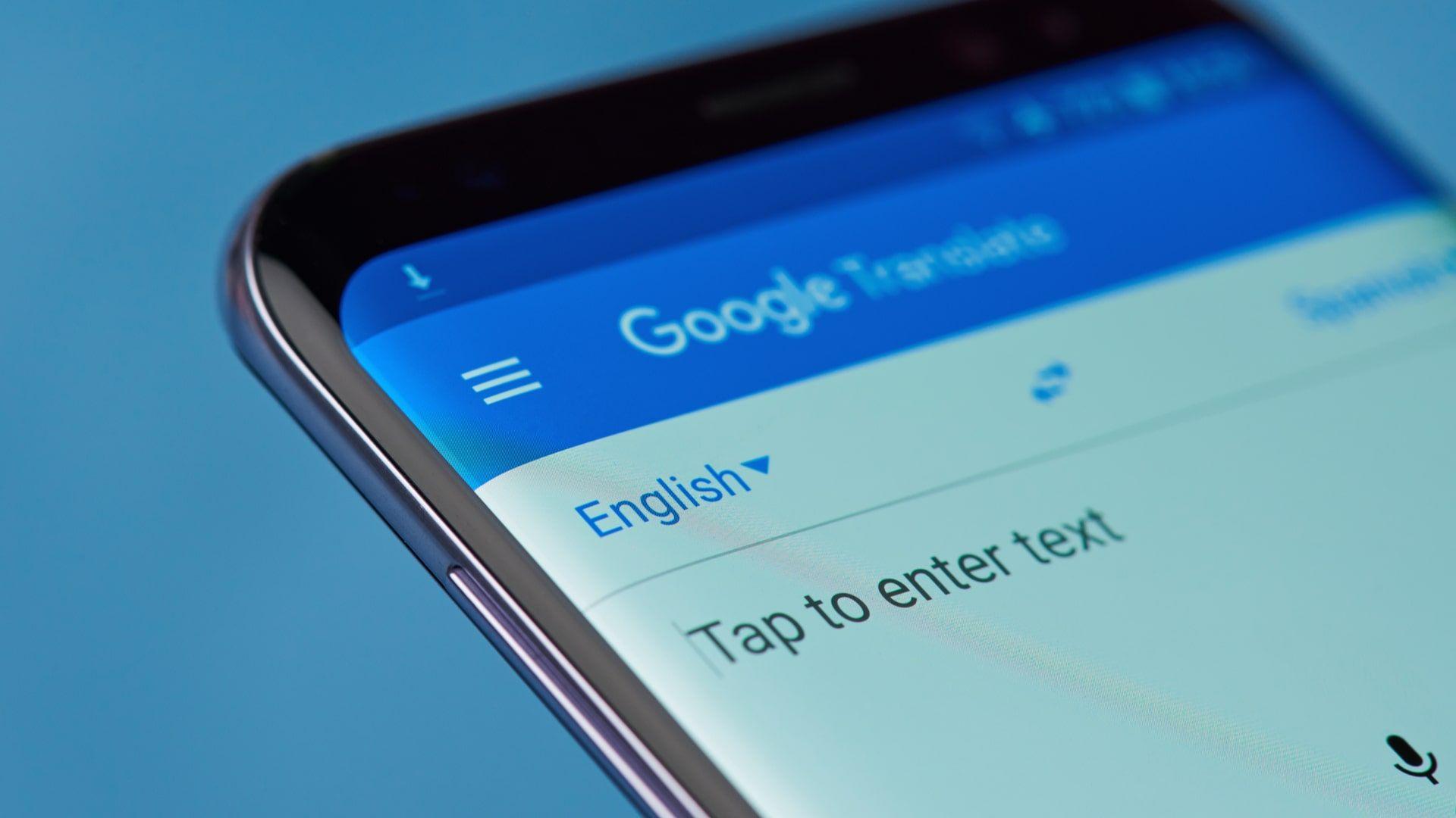 Google Tradutor permite traduzir documentos e sites (Foto: Shutterstock)