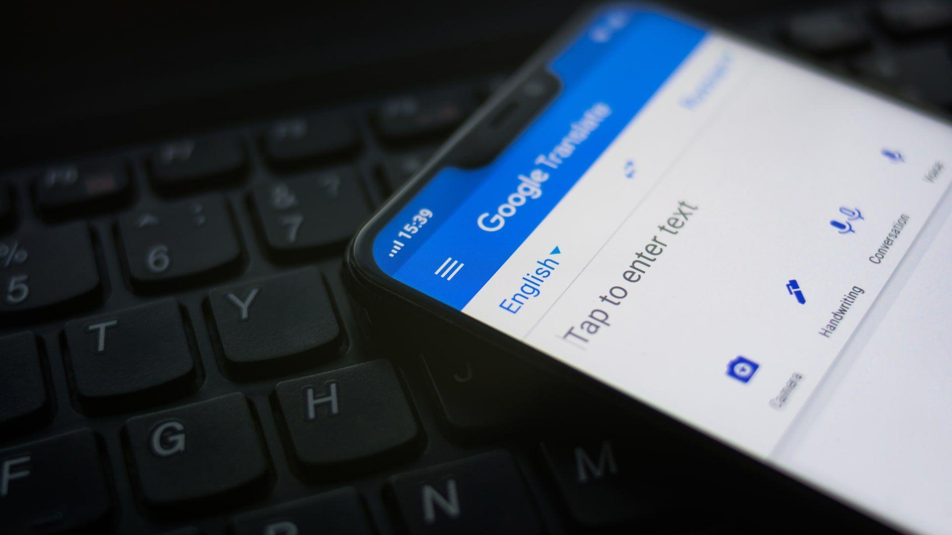 Google Tradutor é o aplicativo gratuito do Google para traduções (Foto: Shutterstock)