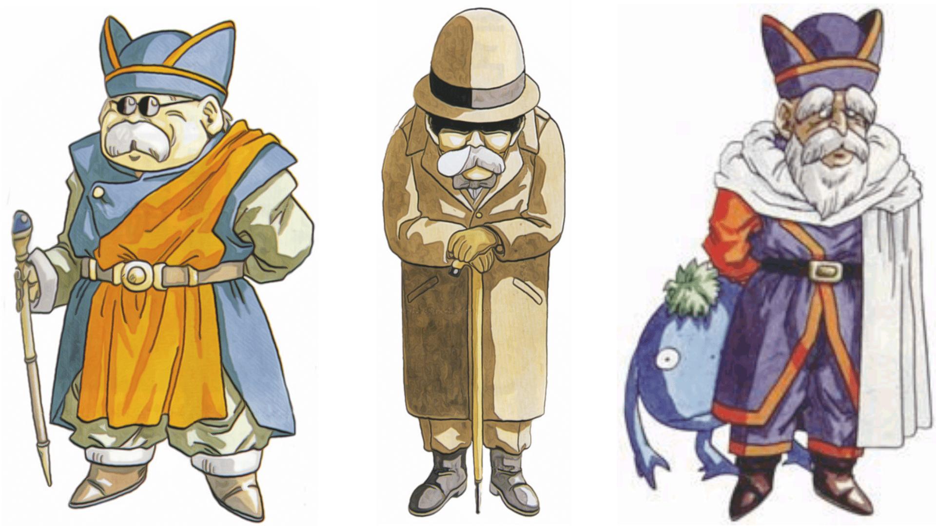 Os três Gurus oferecem conselhos e itens únicos (Foto: Divulgação/Square Enix)