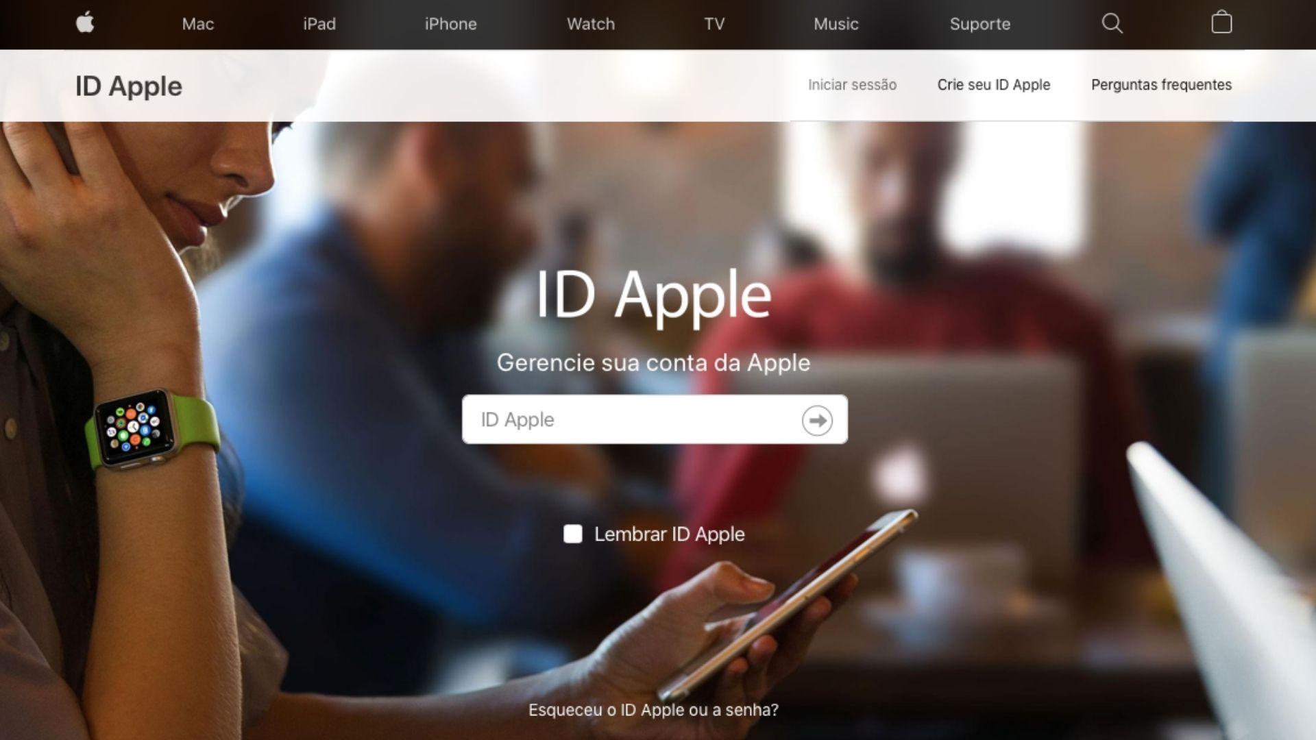 Para usar ao máximo seus dispositivos, é preciso criar ID Apple (Reprodução / Apple)